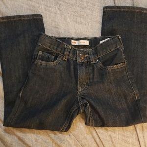 Levi's 511 dark wash boys jeans size 5 reg